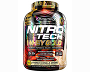 MUSCLETECH PROTEINA NITRO-TECH 100% WHEY GOLD 5,5 LBS STRAWBERRY